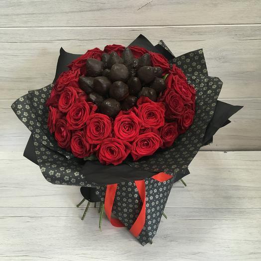 Чёрный король: букеты цветов на заказ Flowwow