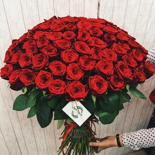 101 роза премиум