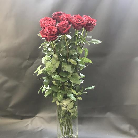 Монобукет Гигароз(11 шт, 120см): букеты цветов на заказ Flowwow