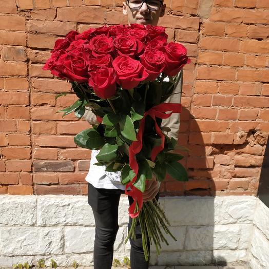 Гигантские розы: букеты цветов на заказ Flowwow