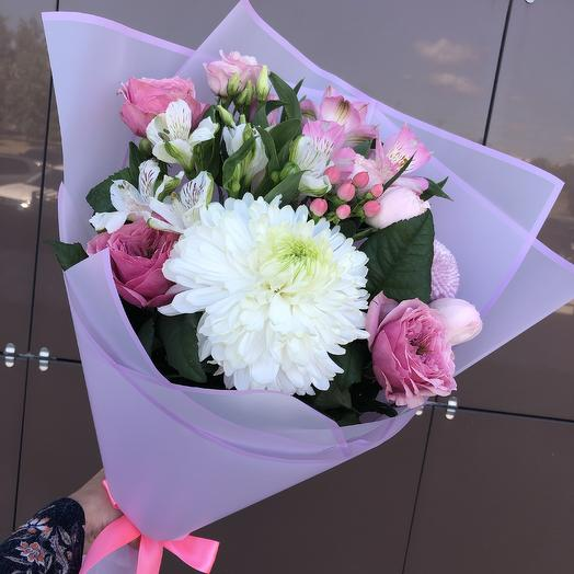 Летний микс: букеты цветов на заказ Flowwow