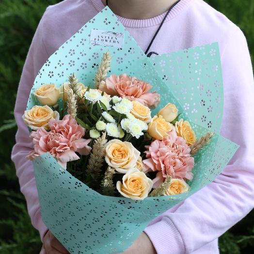 Мятный этюд: букеты цветов на заказ Flowwow