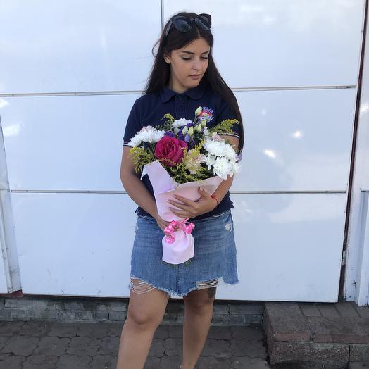 Нежная встреча: букеты цветов на заказ Flowwow
