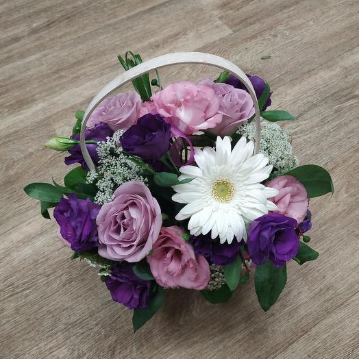 Лиловый сон: букеты цветов на заказ Flowwow