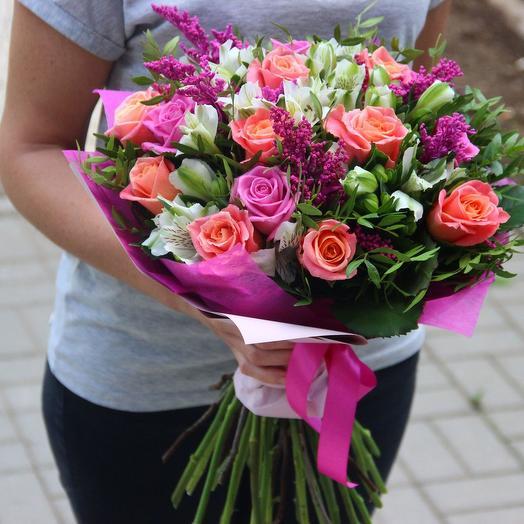 Утро в Париже: букеты цветов на заказ Flowwow