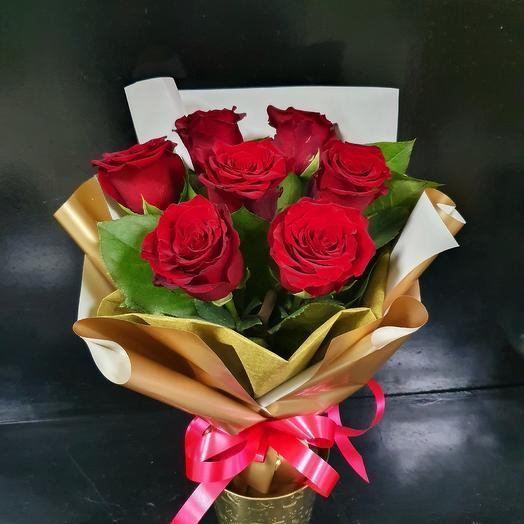 Букет 218: букеты цветов на заказ Flowwow