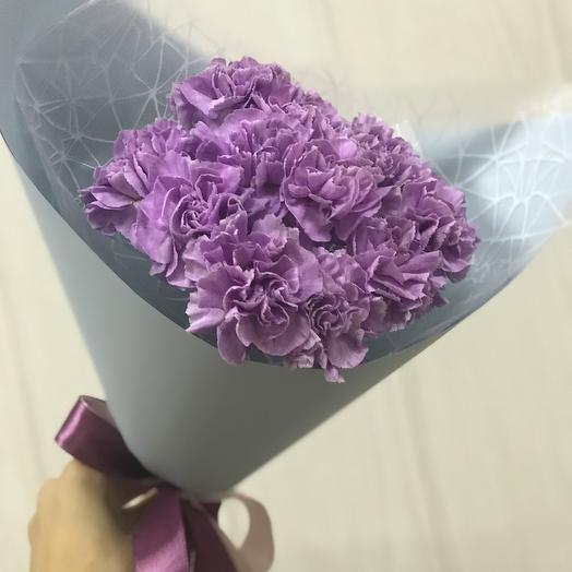 Букетик диантусов: букеты цветов на заказ Flowwow