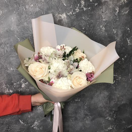 Букет Маршмеллоу: букеты цветов на заказ Flowwow