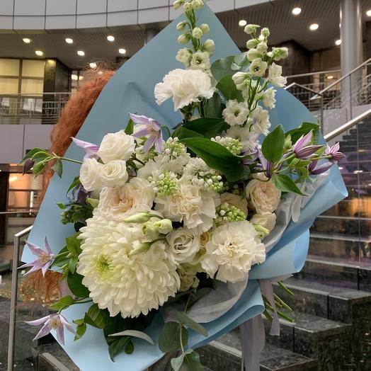 Букет «Лагуна»: букеты цветов на заказ Flowwow