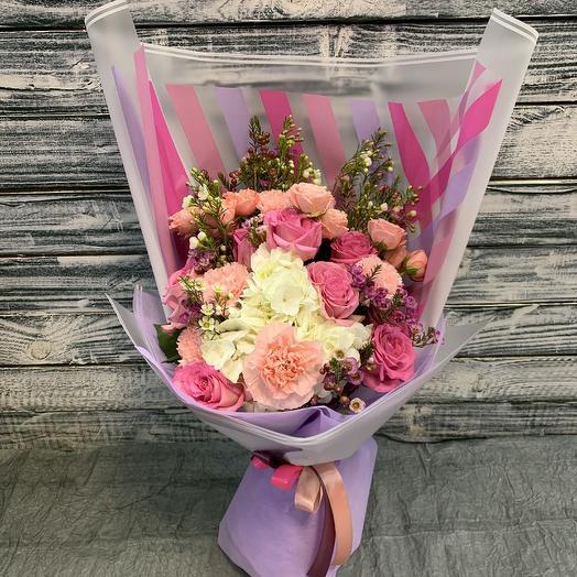 Нежнейший 💜: букеты цветов на заказ Flowwow