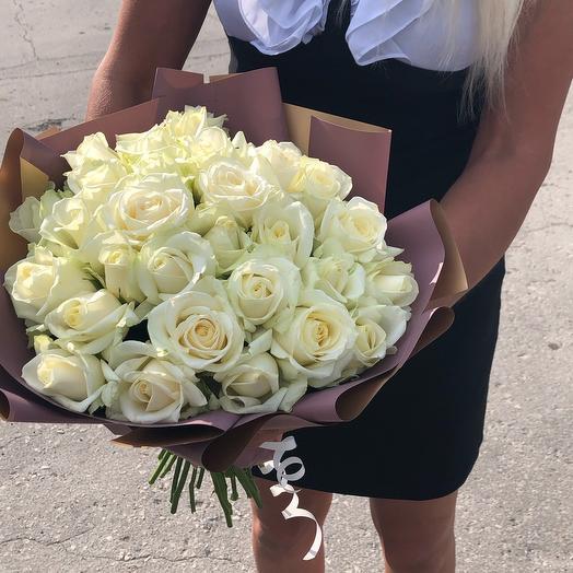 Белые розы Россия