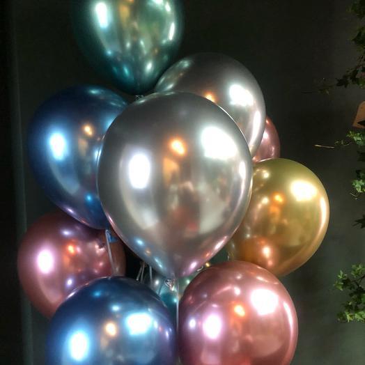 11 зеркальных шаров