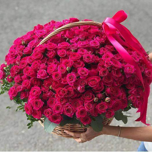 Кустовая роза Юлия
