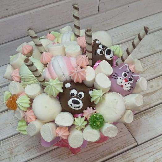 Сладкий букет Шоколадные мишки