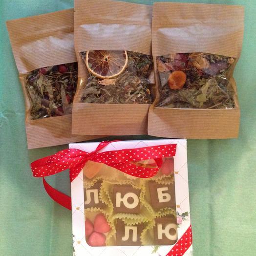 Набор Чай и Шоколад