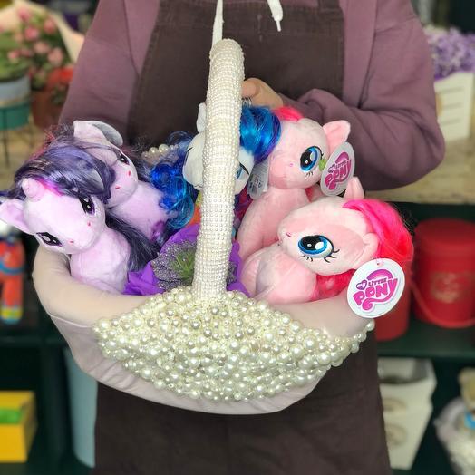 Полная корзина My Little Pony