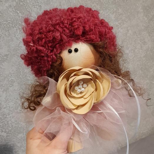 Кукла ручной работы Танюшка