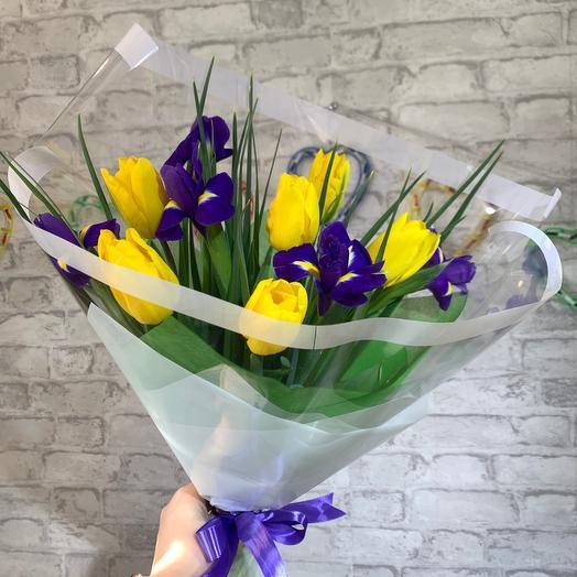 Ирис-тюльпан