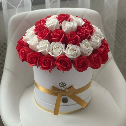 Мыло ручной работы 51 роза