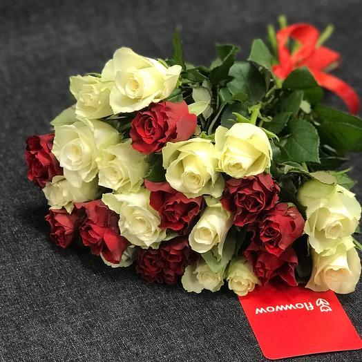 Букет 25 роз 🌹