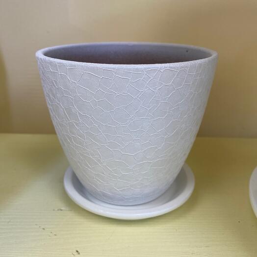 Горшок керамический d 12 см
