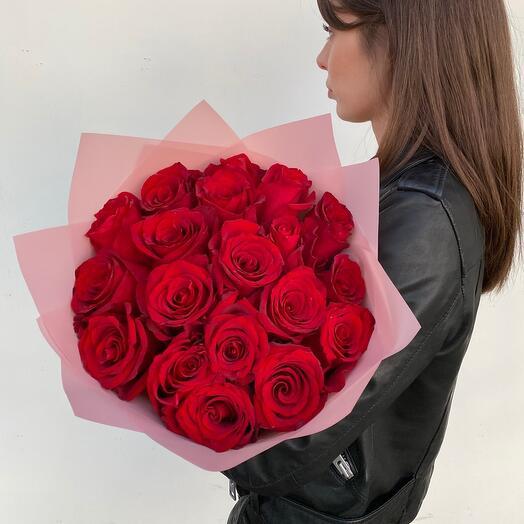 ️🌹 Классический букет из красных роз