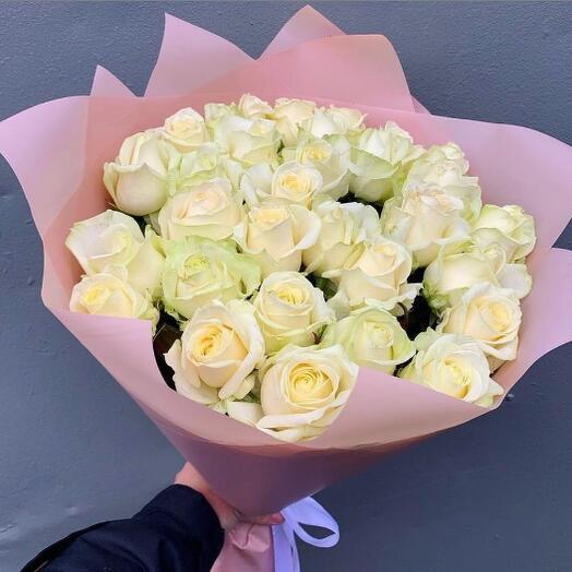 25 роз Аваланж