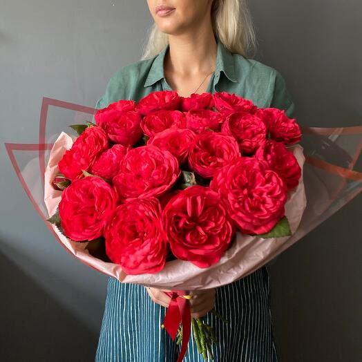 Букет роз Ред Пиано