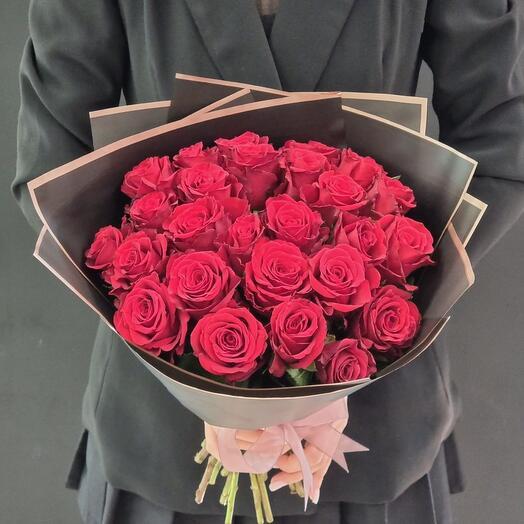 Роза одноголовая 25шт