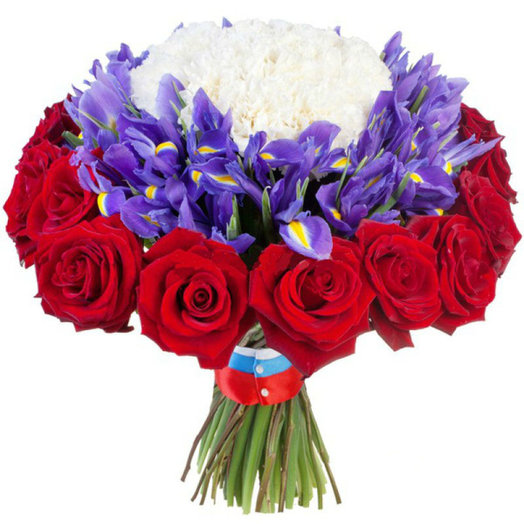 Tricolor: flowers to order Flowwow