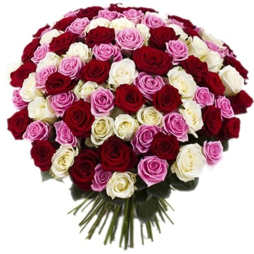 Bouquet of 101 rose: flowers to order Flowwow
