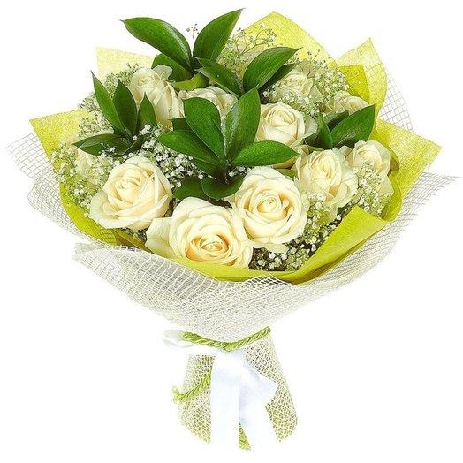 Воздушный крем: букеты цветов на заказ Flowwow