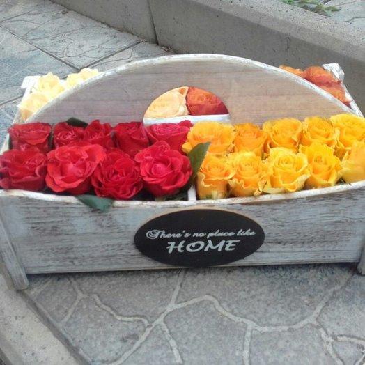 Четыре края света: букеты цветов на заказ Flowwow