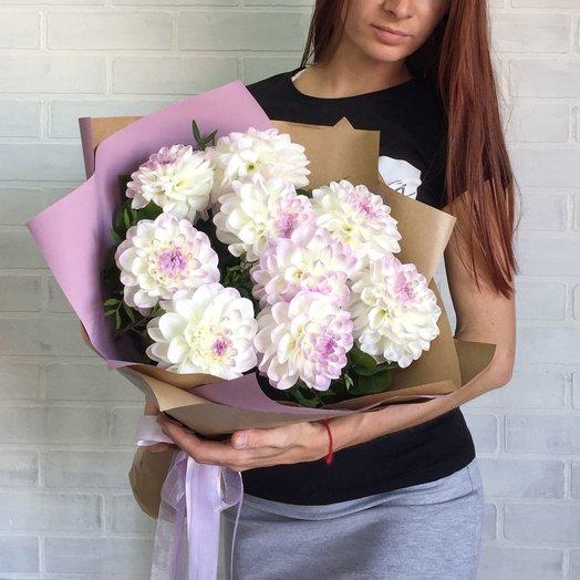 Букет из георгин: букеты цветов на заказ Flowwow