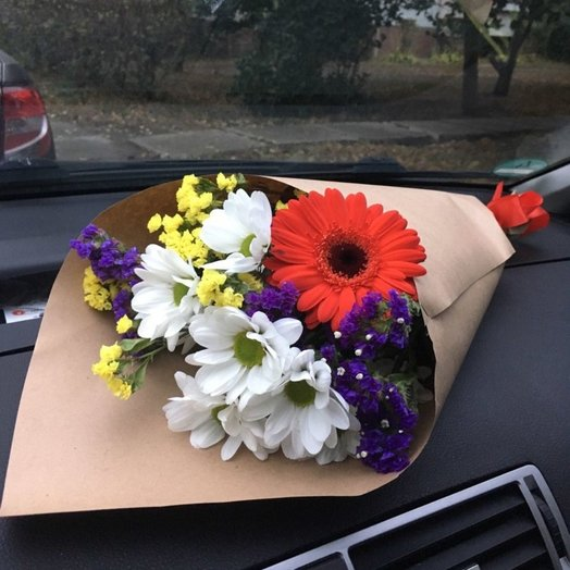 Букетик  От души: букеты цветов на заказ Flowwow