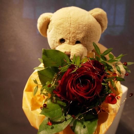Роза для тебя: букеты цветов на заказ Flowwow