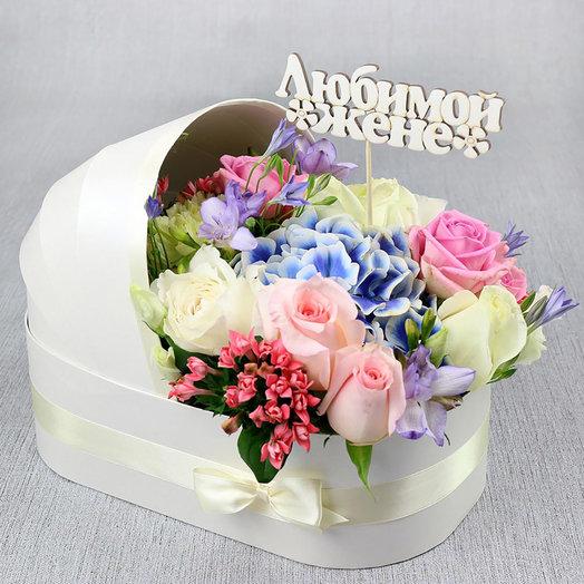 Композиция на рождение ребенка: букеты цветов на заказ Flowwow