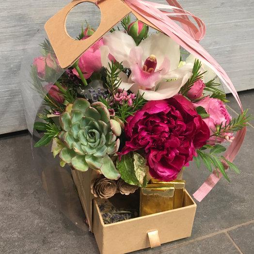 Шококомплимент: букеты цветов на заказ Flowwow