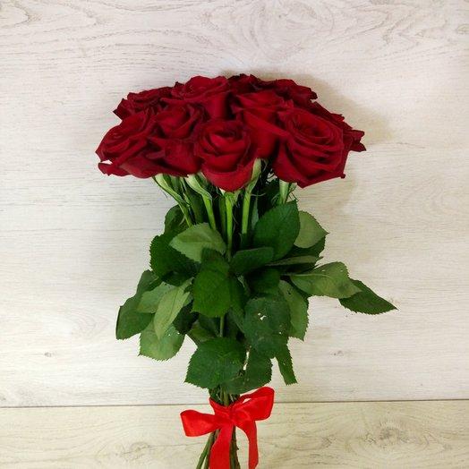 15 эквадорских роз в букете: букеты цветов на заказ Flowwow