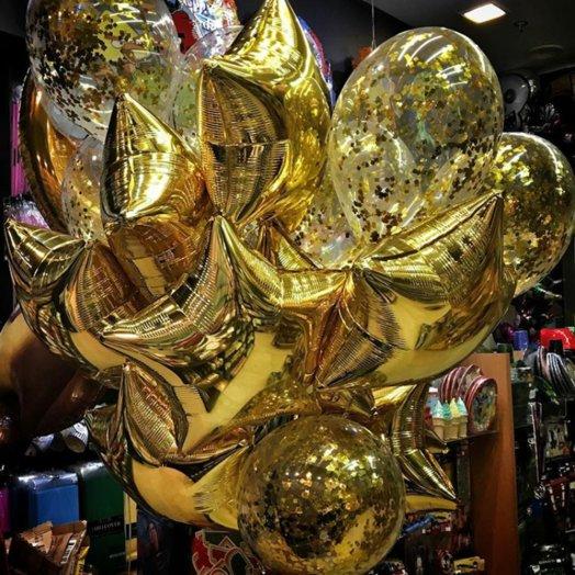 Сияние золота: букеты цветов на заказ Flowwow