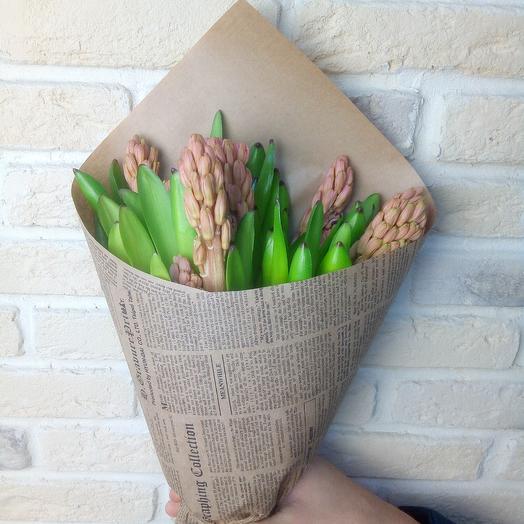 Гиацинт цвета капучино: букеты цветов на заказ Flowwow
