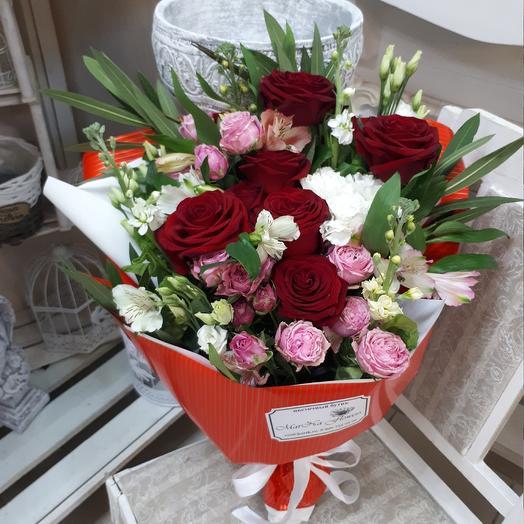 """Букет """"Поцелуй """": букеты цветов на заказ Flowwow"""