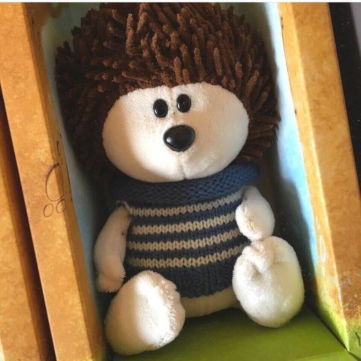 Мягкая игрушка Ежик из коллекции БудиБаса ЛЕсята ЗайкаМи: букеты цветов на заказ Flowwow