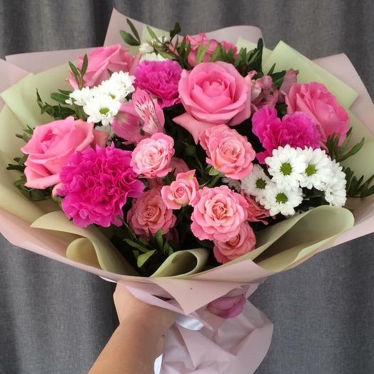 "Букет ""Барбарис"": букеты цветов на заказ Flowwow"