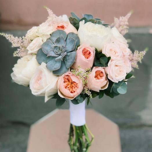 """Свадебный букет """"Молодость"""": букеты цветов на заказ Flowwow"""