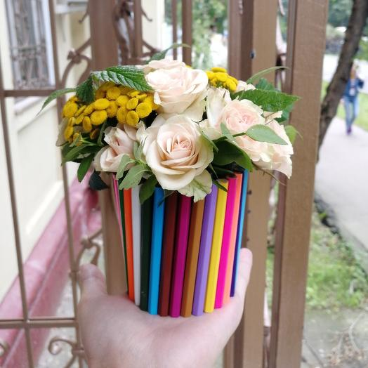 1 сентября: букеты цветов на заказ Flowwow