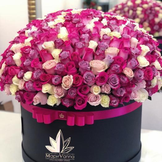 121 голландская роза микс: букеты цветов на заказ Flowwow
