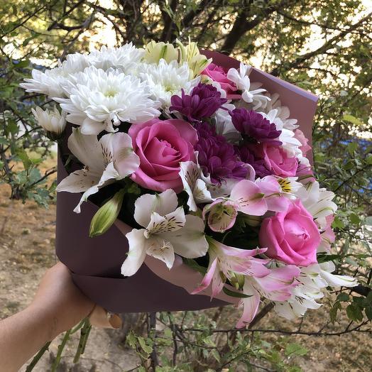 Букет «Сказка»: букеты цветов на заказ Flowwow