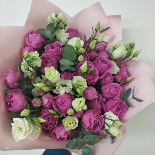 Малиновая мечта: букеты цветов на заказ Flowwow