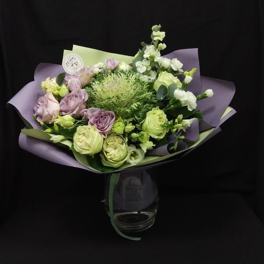 Романтичный: букеты цветов на заказ Flowwow